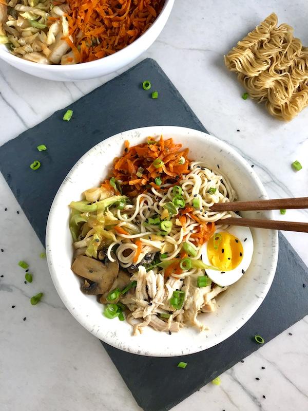 Rockin' Ramen Noodles with Chicken ~ Talking Meals