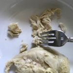 Rockin' Ramen Noodles with Chicken have flavorful broth, hearty chicken, crunchy veggies, creamy egg, sesame seeds & scallions. Gluten-Free too!