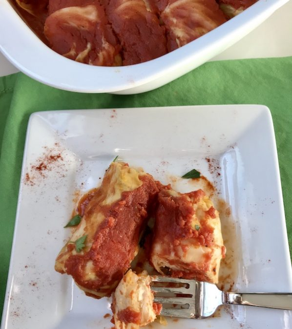 Golumpki Stuffed Cabbage - plate cut OH